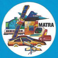 AUTOCOLLANT MATRA - Stickers