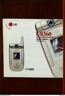 LG U8360 GUIDA UTENTE ITALIANO - Téléphonie