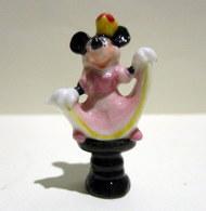 Fève Brillante Et Nacrée - Minnie, Reine De Jeu D'échecs De Disney - Disney