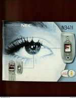 NEC N341i Manuale Dell'utente - Téléphonie
