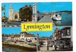 Angleterre Lymington Multi Vues  état Moyen - Autres