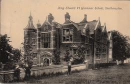 Thematiques Great Britain Southampton King Edward VI Grammar School Timbre Cachet 31 OC   1912 - Southampton