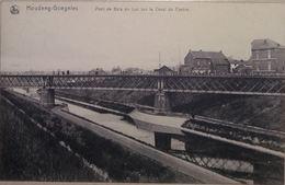 Houdeng Goegnies Pont De Bois Du Luc Sur Le Canal Du Centre - La Louvière