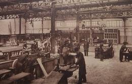 Hornu - Ecoles Professionnelles Du Borinage (Ateliers-Menuiserie, Ebénisterie, Traçage D'escaliers, Modelage) - Boussu