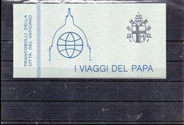VATICAN CARNET C 756** SUR LES VOYAGES DU PAPE JEAN PAUL II - Vatican