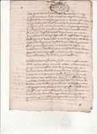 Gen D'Auch Et Pau  15 Juin 1729 Eaux Et Forets Commenge St Gaudens Foret De Clarac 4 Scans - Cachets Généralité
