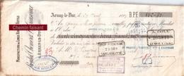Document Du 29/04/1897 PROUTAT  THOMERET CREUSVAUX - Manufacture D'outils - Arnay-le-Duc 21 - Bills Of Exchange
