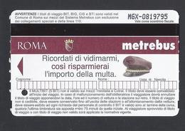 2008 - Metrebus - Roma - Italy - Used  - - Autobus