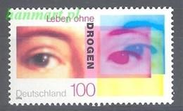 Germany - Federal Republic 1996 Mi 1882 MNH ( ZE5 GRM1882 ) - Drogue
