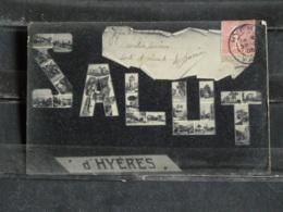 GX - 83 - Hyeres - Salut D'Hyeres - Envoyée à Dap-Cau Tonkin En 1905 - Hyeres
