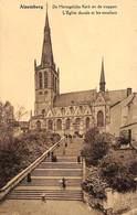 Alsemberg - L'Eglise Ducale Et Les Escaliers (animée) - St-Genesius-Rode