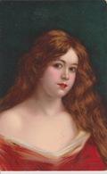 19 / 1 / 228  - BUSTE  DE  JEUNE  FEMME  ( Signé Raphaël  Tuck  ) - Tuck, Raphael