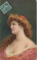 19 / 1 / 229. -   BUSTE  DE  JEUNE  FEMME  ( Signé  Henrieu ) - Henriot