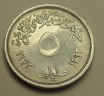 1973 - Egypte - Egypt - 1393 - 5 MILLIEMES, F.A.O. KM 433 - Egypte