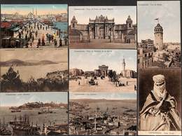 Constantinople - Nice Little Lot Of 10 Postcards (see Scans, Attractive) - Turquie