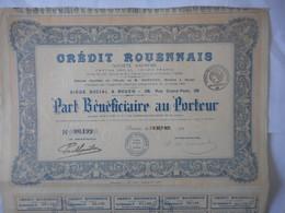 Credit ROUENNAIS 1920 ROUEN Rue Grand Pont - Banque & Assurance