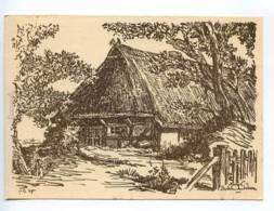 239295 GERMANY Herbert Bartholomaus Dornenhaus Old Postcard - Altre Illustrazioni