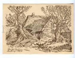 239299 GERMANY Herbert Bartholomaus Fischerkaten Old Postcard - Altre Illustrazioni