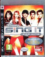 Disney SING IT POP HITS PLAYSTATION 3 PS3 NEUF SOUS BLISTER / FR ; PAL - Sony PlayStation