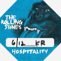 ROLLING STONES CONCERT PASS HOSPITALITY BOSTON TD GARDEN 2013-06-12 - Tickets De Concerts