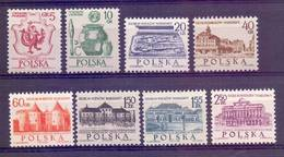 Poland 1965 Mi 1597-1604 MNH ( ZE4 PLD1597-1604 ) - Archaeology