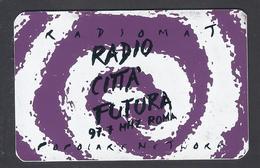 1996 - Badge - Radio Città Futura - Roma- Used - Non Classificati