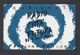 1997 - Badge - Radio Città Futura - Roma- Used - Non Classificati