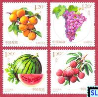 China Stamps 2016, Fruits, MNH - China