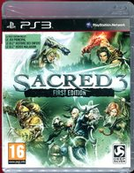 SACRED 3 FIRST EDITION SUR PS3 - Neuf Sous Blister / FR - Sony PlayStation
