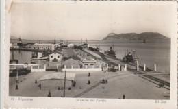 ***  ANDALUCIA  ***  ALGECIRAS Muelles Del Puerto - Timbrée TTB - Cádiz