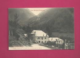 Les Basses Pyrénées - Eaux Chaudes - La Douane Française De Gabas Et Le Débouché De Bious - Douane