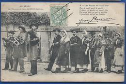 LE BERRY    Les Noces De Nout'Gas    La Chanson De Jean Rameau    Animées     écrite En 1907 - France