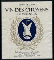 Rare // Etiquette De Vin // Bateaux à Voile //  Préverenges, Vin Des Citoyens - Bateaux à Voile & Voiliers