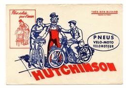 Buvard Pneus Hutchinson Vélo Moto Vélomoteur Clown - Buvards, Protège-cahiers Illustrés