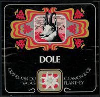 Rare // Etiquette De Vin // Chamois //  Dôle, Vin De Flanthey - Etiquettes