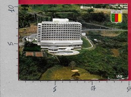 CARTOLINA VG CAMERUN - YAOUNDE - Mount Fébé Hotel - 10 X 15 - ANN. 198? - Camerun