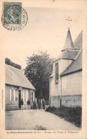 SAINT REMY BOSCROCOURT  -  Bureau Des Postes Et Télégraphe (animée ) - Autres Communes