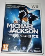 JEU WII MICHAEL JACKSON THE EXPERIENCE BE FONCTIONNEL COMPLET / PAL FRANCAIS - Non Classés