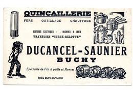 Buvard Quincaillerie Ducancel-Saunier Buchy - Buvards, Protège-cahiers Illustrés