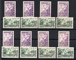 Sellos Exposicion Internacional Paris 1937 - 1937 Exposition Internationale De Paris