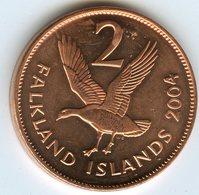 Falkland Malouines 2 Cents 2004 UNC KM 131 - Falkland Islands