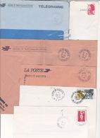 Lot 31 Lettres Oblitération PARIS X 10 Baptisé 10 MAGENTA + Centre De Distribution : TàD Manuel RBV SECAP Flamme PP - Marcofilia (sobres)