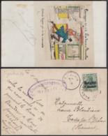 """BELGIQUE CP TRAM """"CAMPAGNE 1914 LES TRAMS A BRUXELLES """" (DD) DC-1399 - Belgique"""