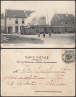 "BELGIQUE CP TRAM  CRAINHEM ""ARRET DU TRAM "" (DD) DC-1400 - Belgique"