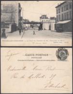 """BELGIQUE CP TRAMWAYS BRUXELLOIS """"CHAUSSEE DE MONS""""   (DD) DC-1407 - Belgique"""