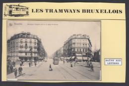 """BELGIQUE CP TRAMWAYS BRUXELLOIS """"BOULEVARD ANSPACH"""" TRAM 59 (DD) DC-1410 - Belgique"""