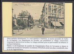 """BELGIQUE CP TRAMWAYS BRUXELLOIS """"AVENUE DE TERVUEREN"""" (DD) DC-1412 - Belgique"""