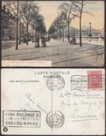 """BELGIQUE CP TRAMWAYS BRUXELLOIS """"BOULEVARD BOTANIQUE"""" (DD) DC-1416 - Belgique"""