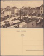 """BELGIQUE CP TRAMWAYS BRUXELLOIS JETTE-SAINT-PIERRE """"LE MARCUE"""" (DD) DC-1417 - Belgium"""