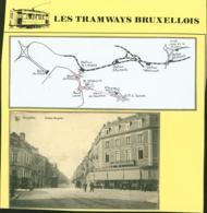 """BELGIQUE CP TRAMWAYS BRUXELLOIS """" AVENUE BRUGMAN"""" + DESCRIPTIF (DD) DC-1419 - Belgique"""